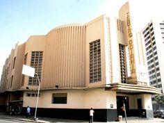 Teatro de Goiânia 1942 - Jorge Félix, arquiteto.