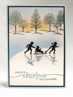 Stampin up's Welcome Christmas Lovely As A Tree by ivy