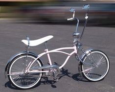 "so i have one in my shed begging me to do this to it. Classic Lowrider   20"" PINK"