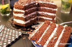 Moja veľmi dobrá kamarátka sa tento víkend lúčila so slobodou a želala si tortu, tak som sa podujala, že ju upečiem. A aby na tej rozlúčke bolo aspoň niečo nahé, tak som si vybrala takúto naked tortu bez poťahu. :)