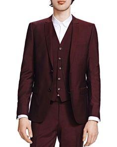 The Kooples Marsala Slim Fit Sport Coat