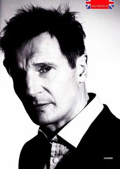 Liam Neeson ~ oh how I hurt for him and their sons when his wife, Natasha, died in 2009 from complications falling a skiing fall. He's a quiet, unassuming and great actor.