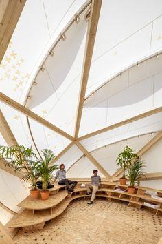 Architects: MARGEN-LAB Location: Plaça de les Glòries Catalanes, 08013 Barcelona, Barcelona, Spain Project Architects: Daniel Ibáñez, Rodrigo Rubio Collaborator: FAB LAB NETWORK Client: IAAC, ENDESA Project Year: 2014