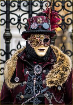 Carnaval de Venise les masques et costumes have an amazing gothic steam punk Victorian masquerade ball this new year followers thanks for stopping by and see you again in 2017