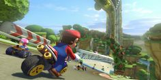 Mario Kart 8 Best Buy preorder includes free realgas - As retailer pre-order incentives go, Best Buy has come up with one creative solution: pay for your trip to the store. Heading to the retailer to get Mario Kart 8 will net you a