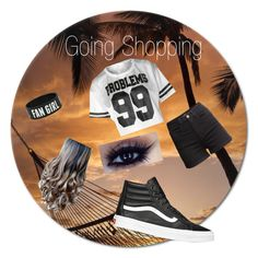 """""""Going Shopping"""" by afashionfangirl230 ❤ liked on Polyvore featuring Vans and H&M"""
