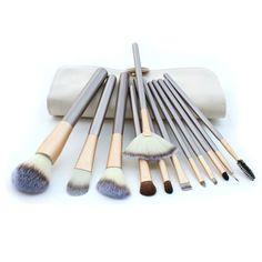 Professional 12 Piece Makeup Brush Set