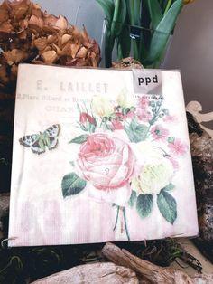 """2,95 €  Servietten """"Rosen"""" Vintage Stil, Tote Bag, Totes, Tote Bags"""
