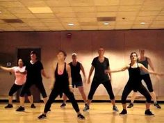 """Great warm up dance fitness routine to """"I Like To Move It"""" by Madagascar! Can't help but move! Simple and easy dance fitness choreography that incorporates s. Dance Workout Videos, One Song Workouts, Zumba Videos, Workout Songs, Easy Workouts, Zumba Workouts, Dance Videos, Zumba Fitness, Dance Fitness"""