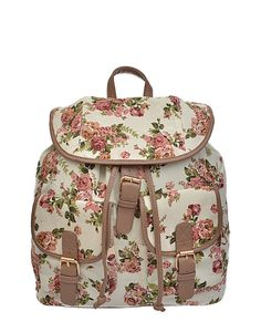 Screw real roses! For the festival girls, tell your babe you rather have our Secret Garden Floral Backpack for Valentine's Day! >> shop-ardour.com #shopardour