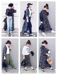 Cute Fashion, Modest Fashion, Daily Fashion, Hijab Fashion, Girl Fashion, Fashion Outfits, Womens Fashion, Japanese Street Fashion, Korean Fashion