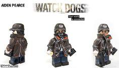 Aiden Pearce Watch_Dogs Custom Minifigure