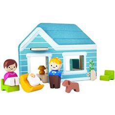 Plan Toys Plan World Wooden Home Set