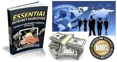 Essential Internet Marketing eBook PDF with Master Resell Rights Free Shipping