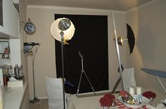 DIY home photography studio