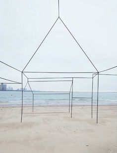 By Sarah FitzSimons. Deserted house on Lake Michigan