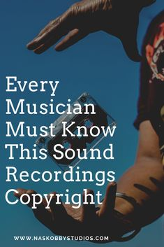 Every Musician Must Know This Sound Recordings Copyright - Nas Kobby Studios Music Lesson Plans, Music Lessons, Music Teachers, Music Education, Music Bulletin Boards, Grow Together, Music Therapy, What To Read, Song Lyrics