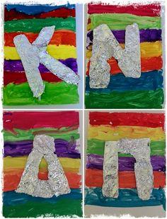 First Day Of School, Back To School, Name Activities, Primary School, Kids And Parenting, Alphabet, Kindergarten, Diy, Symbols