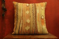 24 x 24 Throw Pillow Decorative Pillow Accent by kilimwarehouse, $82.00