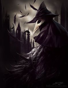 Bloodborne Eileen the Crow