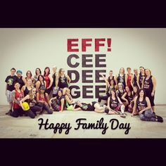 Happy family day from our family to yours! #fcdg #rollerderby #family #familyday #londonontario by forestcityderbygirls
