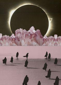 suivre la lumière #collage