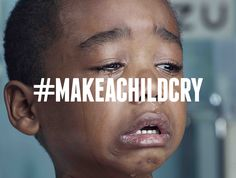 #MakeAChildCry Ads Remind Shocked Commuters That Sometimes Pain Means Love | Adweek