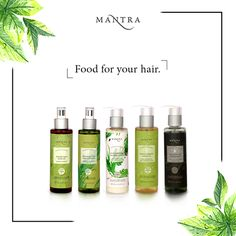 Feed your hair with the goodness of nature. Mantra brings you a #Hair Care range, free of harmful chemicals, that makes your hair stronger, longer, lustrous and frizz-free. Read more here: http://www.mantraherbal.in/Hair