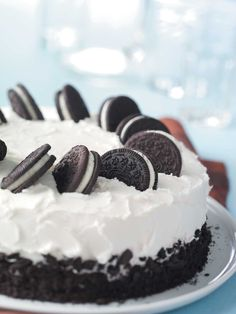 Cookies and Cream Cake Recipe from Taste of Home