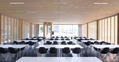 Cafeteria at the University Aalen / MGF Architekten