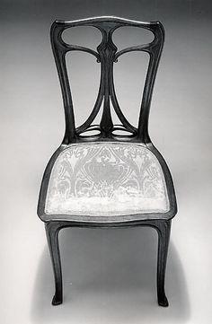 Chair  Édouard Colonna (French, 1862–1948)  Date: 1899 Medium: Palissander