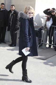 Coeur de Pirate Photo - Arrivals for the Chanel Fashion Show