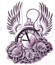 Clock With Wings By Jerrrroen On DeviantART