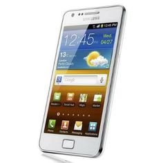Celular Samsung Galaxy S II SA-I9100G Unlocked Phone with 8 MP Camera and GPS support International Version Ceramic White #Celular #Samsung