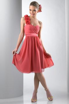 cute bridesmaids dress - especially love the color