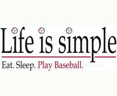 Eat. Sleep. Play Baseball