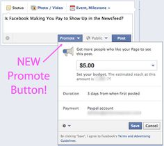 Is Facebook making you PAY to show up in Newsfeeds?!?! The truth revealed (as well as how to do it for free) over at The Modern Tog