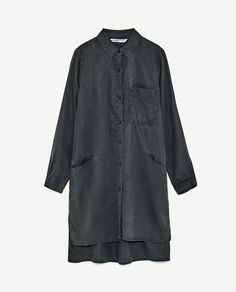Image 8 of JOIN LIFE SHIRT DRESS from Zara