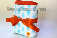 Vinyl Tablecloth Changing Mat - Smashed Peas & Carrots