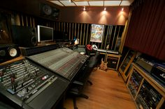Two Fish Studios - Control Room Recording Studio https://www.facebook.com/twofishstudios