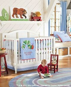 Hungry Caterpillar room from Pottery Barn