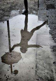 parapluie - umbrella. Les albums de Céline E.