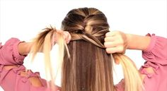 {The Classic French Braid} Link to helpful video. Was neat getting a different perspective on how people do this braid. Everyone's is a little different.