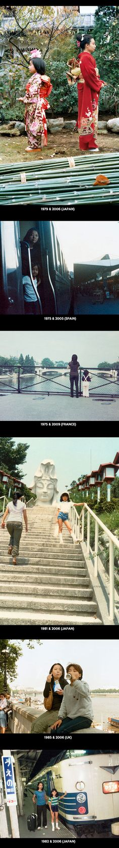 Cool Japanese photographer time travel photos, Part 2.