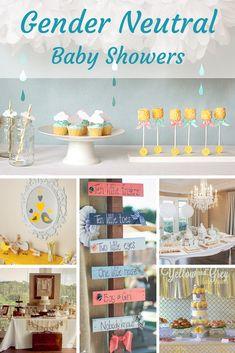 Unique Gender Neutral Baby Shower Ideas
