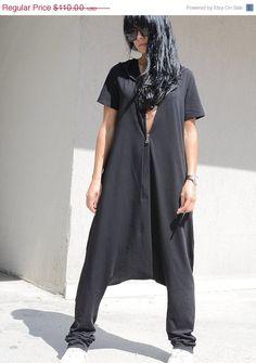 ON SALE Free Shipping Black Jumpsuit / Sexy by KOTYTOstyleLAB