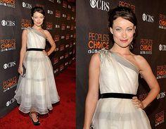 Olivia Wilde  http://bridalrehab.files.wordpress.com/2010/01/ml_ow_dress.jpg