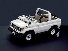 Toyota Land Cruiser Canvas Top (1984 – 1990).