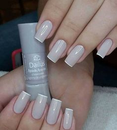 Try some of these designs and give your nails a quick makeover, gallery of unique nail art designs for any season. The best images and creative ideas for your nails. Sexy Nails, Classy Nails, Stylish Nails, Love Nails, Trendy Nails, Simple Nails, Essie, Luxury Nails, Elegant Nails