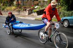 Kayak bike